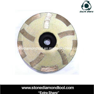 Diamond Resin-Filled Grinding Cup Wheel Flat Grinding Disc pictures & photos