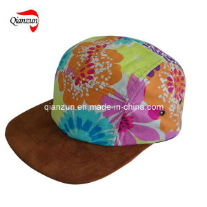 2013 New Style Floral 5 Panel Caps and Hats (ZJ05-01) pictures & photos