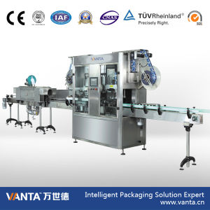 18000bph Automatic Sleeving Labeler Shrink Sleeve Labeling Machine (300 Bottles/Min.)