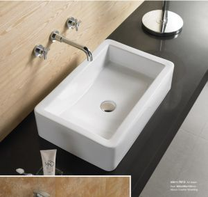 Porcelain Wash Basin for Ceramic Bathroom Sink 30011 pictures & photos