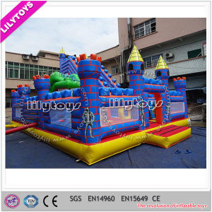 Newest Inflatable Slide and Castle Playground