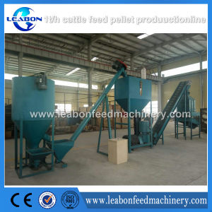 2017 Hot Selling 3t/H Grass Powder Cattle Feed Pellet Plant pictures & photos