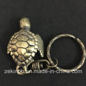 Souvenir Animel Metal Tortoise Keychain pictures & photos