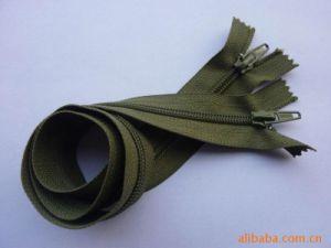 Brown Open End Long Chain Nylon Zipper pictures & photos
