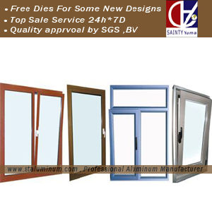 Aluminum Window Frame Based Specification (ST802)