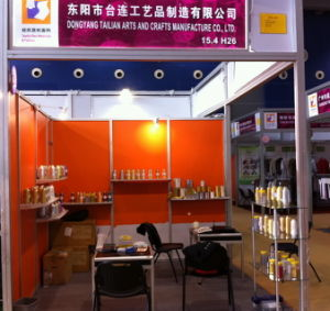 Tailian Canton Fair Booth Metallic Yarn pictures & photos