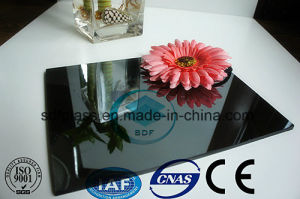 Dark Grey Reflective Float Glass with Ce. ISO (4mm to 10mm)