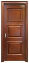 Walnut Flush Wooden Door with High Quality PU Painting pictures & photos