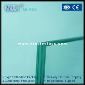8mm Float Clear Glass with Polished Edge