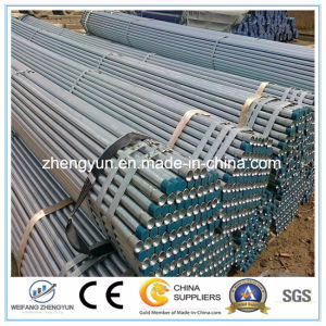 ERW Welded Carbon Black Structure Welded Steel Pipe pictures & photos