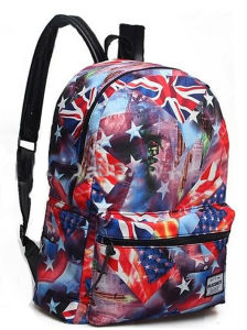 Leisure Colorful Printing School Backpack for Teenagers pictures & photos