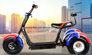 3 Wheel Harley Citycoco Electric Scooter with 1000W 60V/20ah pictures & photos