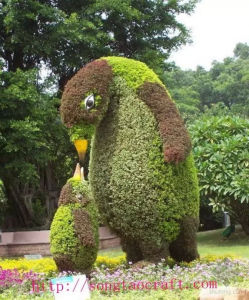 Penguin Artificial Topiary Plants Grass pictures & photos