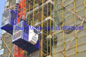 Double Cage Building Hoist Sc200/200 pictures & photos