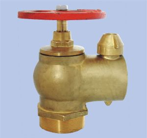 Fire Landing Valve with Cap and Chain