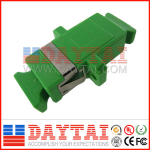 High Quality Single Core Sc APC Fiber Optic Adapter pictures & photos