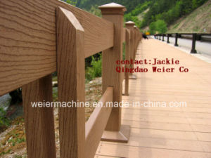 CE Certificate WPC Profile Extrusion Machinery (SJSZ-65/132) pictures & photos