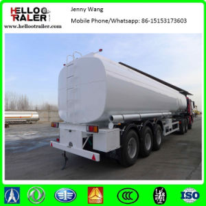 3 Axle 42000L Fuel Tanker Bulk Petrol Tanker Trailer, with 6 Compartments pictures & photos