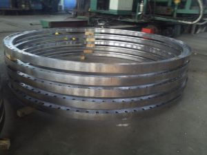 Sand Forging Steel Heavy Big Cast Flange pictures & photos