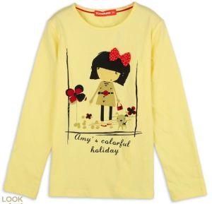 2014 Fashion New Design Printing T-Shirt for Children, Kids, Girls (YHR-13113)