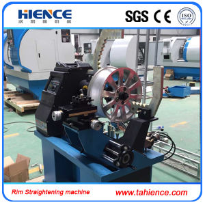 Wheel Repair Rim Straightening Machine with Lathe Function Ars26 pictures & photos