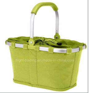 Multifunctional Supermaket Use Collapsible Shopping Basket pictures & photos