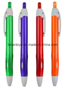 Tranparent Plastic Pen, Promotion Ball Pen (LT-C728) pictures & photos
