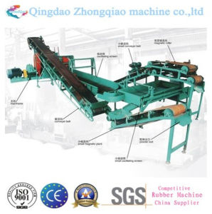 Waste Tyre Recycling Machines Rubber Crusher Machine for Sale