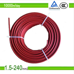 TUV Approved Heat Resistant Xlpo Insulated PV Cable pictures & photos