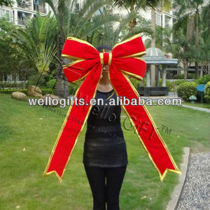 Red Fancy Bow Christmas Decoration Bow Gift Bow pictures & photos