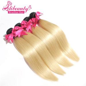 Two Tone Blonde Color Brazilian Human Hair Virgin Ombre Hair pictures & photos