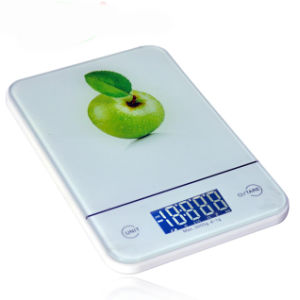 Water Proof Kitchen Scale with Backlight (HK115B) pictures & photos
