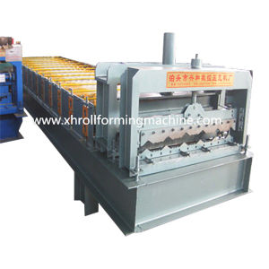 Color Steel Roofing Sheet Glazed Tile Roll Forming Machine