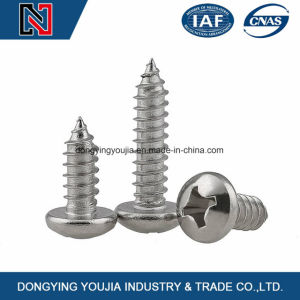 DIN7981 Cross Recessed Pan Head Tapping Screw Galvanized pictures & photos