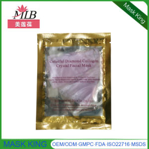 Skin Care Beauty Products Gold Diamond Moisturizing Lightening Firming Collagen Gel Face Mask pictures & photos