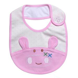 Organic Cotton Lovely Cartoon Animal Baby Bibs Supplier pictures & photos
