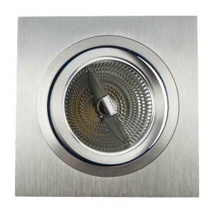 Lathe Aluminum AR111 Square Tilt Multi-Angle Recessed LED Down Light (LT2307) pictures & photos