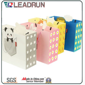 Gray Offset Paper Cardboard Art Coated Hand Paper Corrugated Paper Custom Paper Packing Bag (F94)