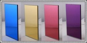 Doublue Coated / Cooper and Lead Free / Colored Silver Mirror pictures & photos