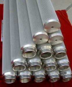 Sintered Stainless Steel Woven Wire Mesh Cylinder Filter pictures & photos
