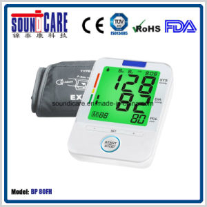 Large LCD Digital Blood Pressure (BP80FH) pictures & photos