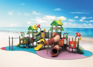 2014 Hot Sale Outdoor Playground Plastic Slide pictures & photos