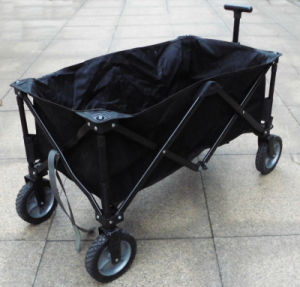 Four Wheels Hand Trolley/Kids Garden Trolley/Portable Folding Trolley pictures & photos