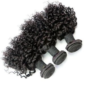 Brazilian Virgin Jerry Curl Hair Weave pictures & photos