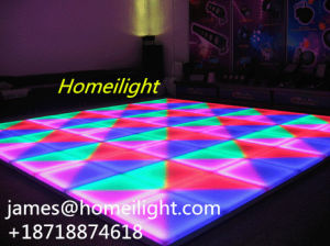 4PCS/Lot 1 Meters DMX 512LED Dance Floors Controller Wedding Dance Floors Disco Effect Light pictures & photos