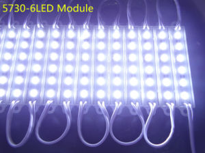 DC12V 5730 6 LEDs SMD LED Module for Advertising Signs pictures & photos