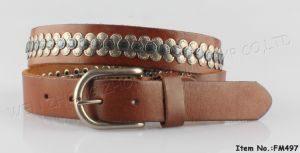 2016 New Fashion Genuine Leather Belt pictures & photos