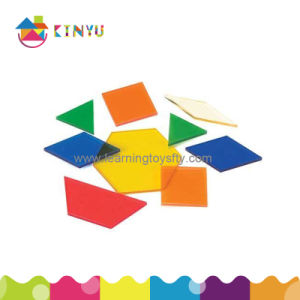 Overhead Pattern Blocks/Plastic Puzzles (K050) pictures & photos