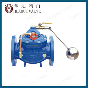Float Operated Ball Valve Flanged Cast Iron Hydraulic Valve