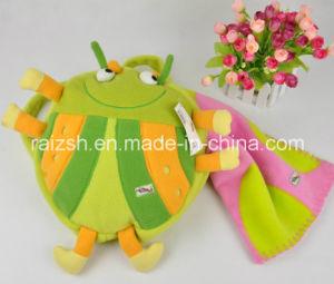 Children′s Fleece Blanket, Cartoon Blanket with Backpack pictures & photos